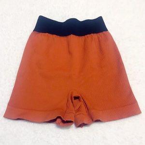 Free People movement wide waistband shorts xs/s